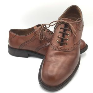 Johnston and Murphy Brown Leather Oxfords